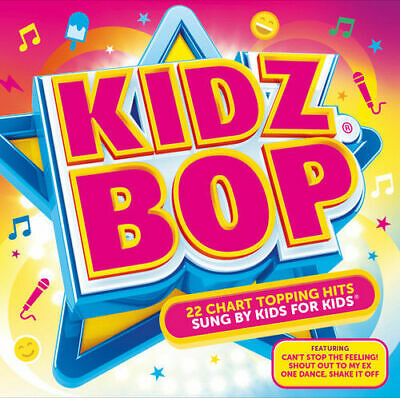 Kidz Bop # 22 Chart Topping Songs Sung By Kids For Kids New Sealed Cd Kids U.k.