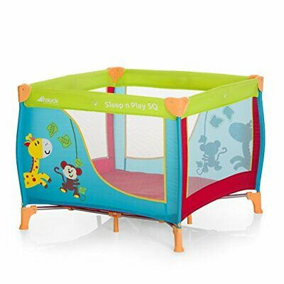Hauck Sleep N Play SQ - Cuna parque ligero 3 pi(Sleep'n Play SQ Jungle Fun)