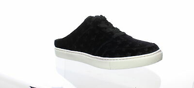 New Womens Superdry Black White Core Slip On Textile Trainers Style