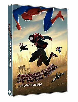 DVD NUOVO SIGILLATO FILM CARTOON SPIDER-MAN UN NUOVO UNIVERSO vers Italiana