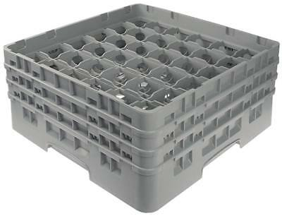Cambro Glass Rack Width 500mm Fächergrösse 73x73mm 36 Glasses Height 224mm