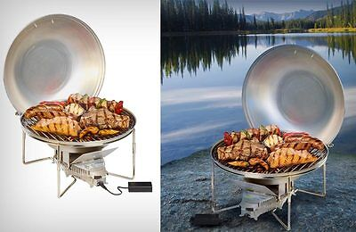 Barbecue camping au bois vitalgrill neuf emballe