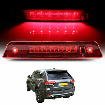 Red Lens For 05-2010 Jeep Grand Cherokee Third 3rd Brake light LED Signal Lamp