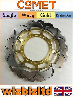 Comet Gold Wavy Front Brake Disc Yamaha XT 660 X Supermoto 2004-2015 W959GD