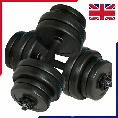 2X Dumbbell Set Weight Gym Workout Biceps Triceps Free Weights Training 30/40KG