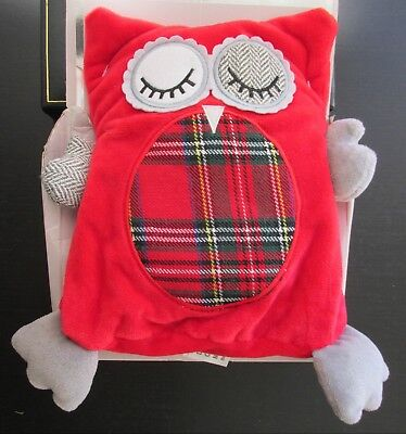 Hooty Microwaveable Soft Toy Owl Warm & Cozy Lavender Infused