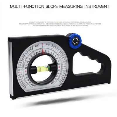 Slope Horizontal Vertical Angle Bevel Protractor Level Inclinometer Magnetic