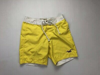 HOLLISTER Swim Shorts - XS - Yellow - Great Condition - Men's