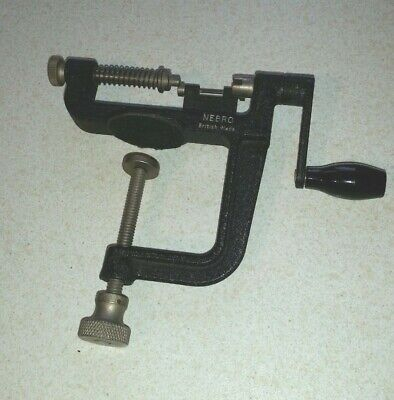 Nebro clamped film winder -  Used excellent condition - Made in England
