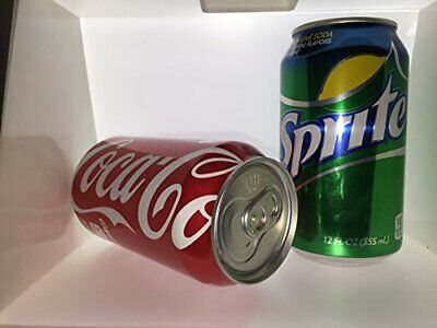 2 Pack Diversion Stash Can Safe Coca-Cola and Sprite