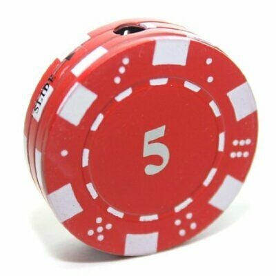 B1 $5 Poker Chip Refillable Butane Lighter - 1.5 Inch - Unboxed -