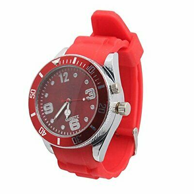 CFHKStore Wrist Watch Grinder Tobacco Herb Crusher Red Agile Lovable