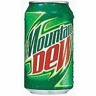 Mtn Dew Soda Drink Stash Can Safety Diversion Secret Compartment 12 Fl Oz