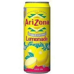 New Arizona Lemonade Diversion Stash Safe Can Top Secret Compartment