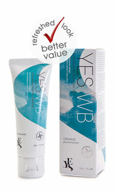 YES® WB Organic Water Based Personal Intimate Lubricant Sex Lube Moisturiser DG