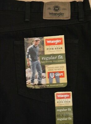 eb5a8303 WRANGLER MENS JEANS Five Star Regular Fit Many Sizes Many Colors New ...