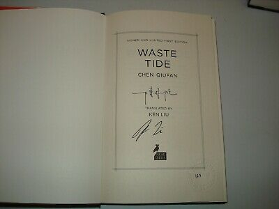 Signed by Ken Liu & Chen Quifan Waste Tide UK1st/1st LtdEd 177 or 286 of 350