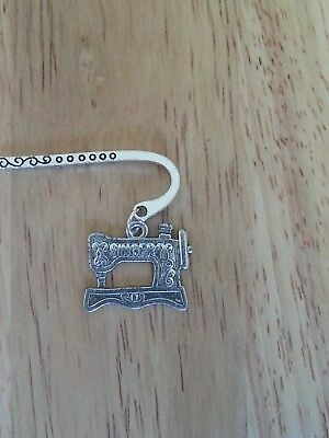 SINGER SEWING MACHINE - Silver Coloured Bookmark - Birthday, Anniversary Gift ?