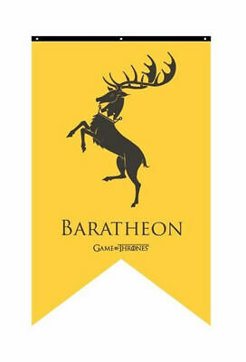 "Game of Thrones Baratheon 30"" x 50""  House Banner--NEW--US Seller"