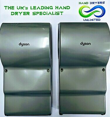 2 x Dyson Airblade AB14 Hand Dryer - Steel ABS - EXCELLENT CONDITION