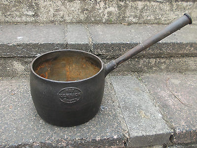 VINTAGE CAST IRON KENRICK No 7, 8 PINTS PAN