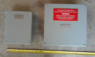 Kahlenberg Oscillator (M-478A) and Power Supply (M-477) for Ship Whistle (KB-20)