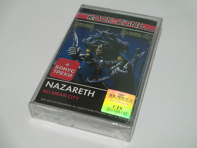Nazareth - No Mean City (Cassette) BMG Russia SEALED