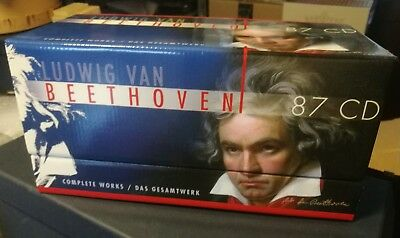 Beethoven Complete Works87CD LIKE NEW MINT