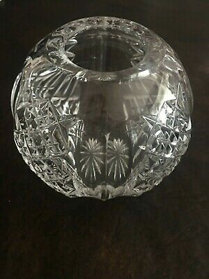 """Waterford Crystal Glandore Rose Bowl 5 3/4"""" Mint condition"""