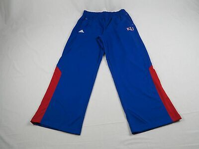 NEW adidas Kansas Jayhawks - Blue ClimaLite Athletic  Pants (Multiple Sizes)