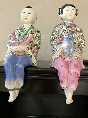 Chinese Porcelain Statues