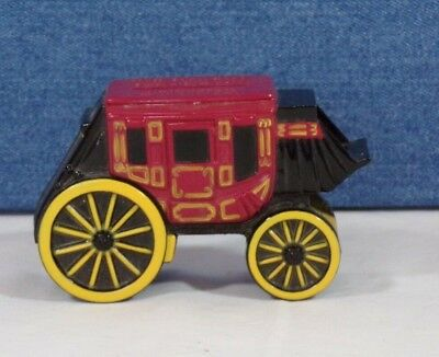 Wells Fargo Bank & Union Trust Company Metal Stagecoach Coin Bank - With No Key