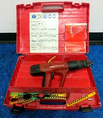 Hilti Dx A40 Powder Actuated Concrete Gun W/case