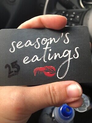 $25 Red Lobster Gift Card