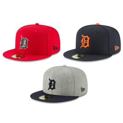 low priced 86acb 65002 Detroit Tigers DET MLB Authentic New Era 59FIFTY Fitted Cap - 5950 Hat