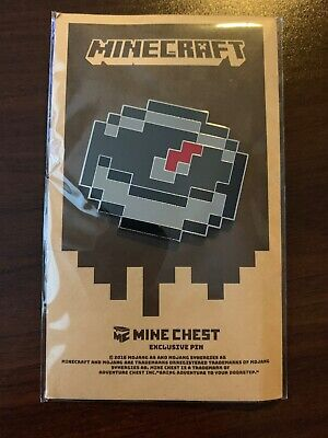 ENDER BLOCK PLUSH Minecraft Mine Chest Exclusive Item Toy Loot Crate