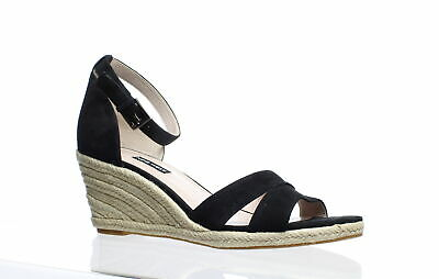 e5bd6349534 NINE WEST WOMENS Jabrina Black Espadrilles Size 10.5 (307208)
