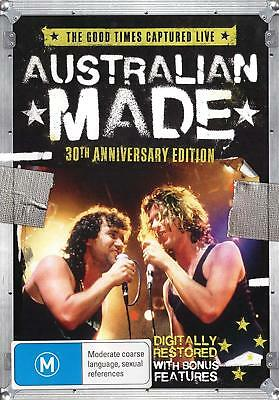 AUSTRALIAN MADE 30th Ann. Ed. DVD ~ INXS~JIMMY BARNES~MODELS~DIVINYLS +++ *NEW*