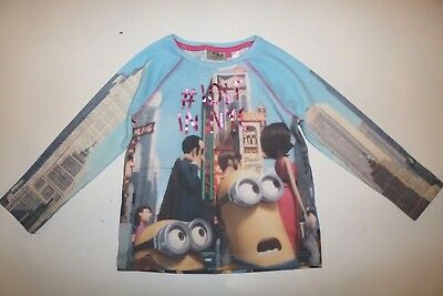 Next - Minions - Despicable Me - Lost In Nyc - Multi Cotton Jumper Girls 5 Years