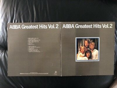 1979~Abba~Greatest Hits Vol.2~Vinyl LP~Epic~EPC 10017~USA🇺🇸 Printed Sleeve