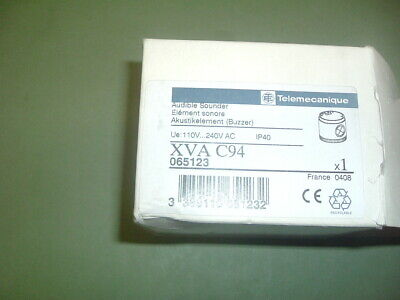 Telemecanique ....Xva C94 Audible Sounder 110-240 Vac Part 065123  New  Packaged