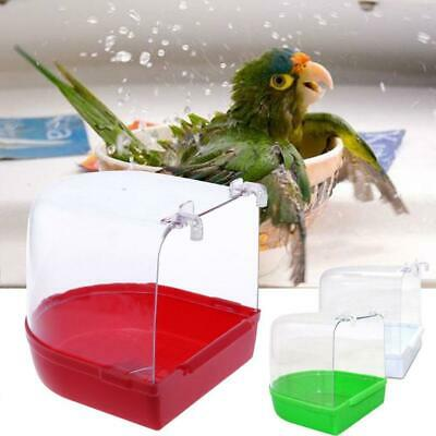 14 × 15 × 15 Cm Other Bird Supplies Bird Bathtub Bath Clean Box Toy For Budgies Canary Cage Trixie