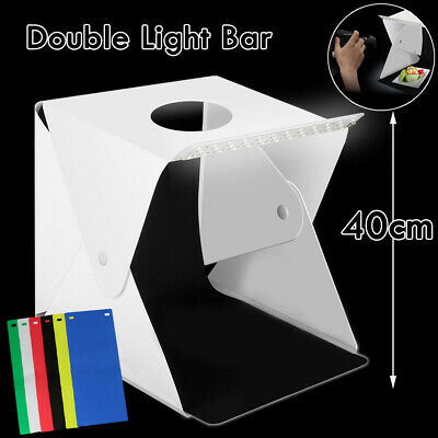 Light Room Photo Studio Photography USB LED Lighting Tent Backdrop Cube Box