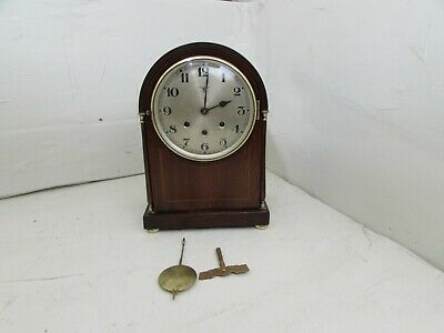 Antique Friedrich Mauthe Westminster Chime Dome Cased Bracket Clock