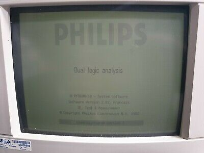 Philips Pm3585 Pm3585/90 Logic Analyzer  (R5S2.2)