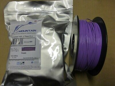 3d Printer Printing Filament 1.75mm PLA 100M reel 312g Various Colours New
