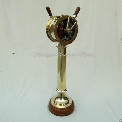 Brass Ship Telegraph Vintage Collectible Home Decorative