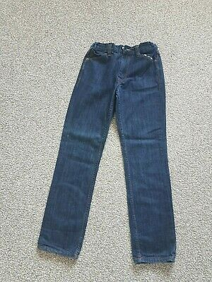 "Ben Sherman boys blue denim jeans elasticated waist size 25"" waist"