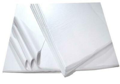 500 Sheets White Acid Free Tissue Paper- 450x700mm Protective Wrapping Filling