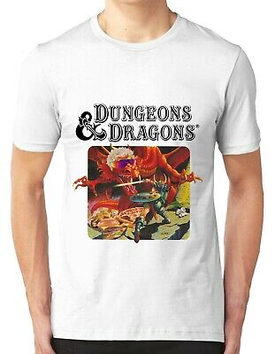 Trending 2019Dungeons and Dragons Graphic White T-Shirt